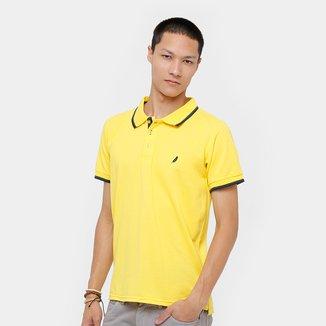 Camisa Polo BlueBay Piquet Frisos Masculino