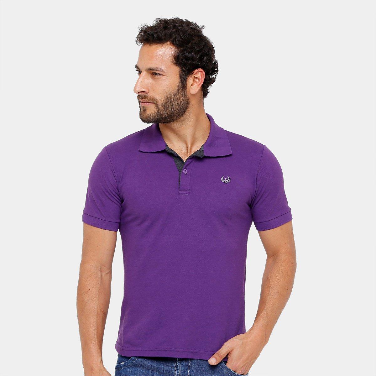 Camisa Polo Burn Piquet Masculina - Compre Agora  71bfdb57d5108