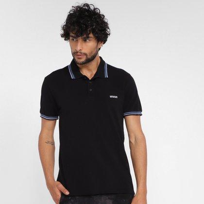 Camisa Polo Calvin Klein Lines Masculina