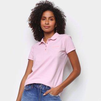 Camisa Polo Calvin Klein Manga Curta Feminina