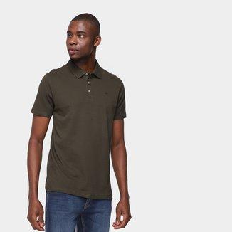 Camisa Polo Calvin Klein Manga Curta Masculina
