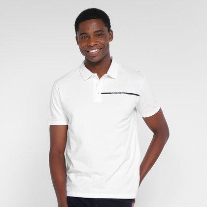 Camisa Polo Calvin Klein Palito Masculina