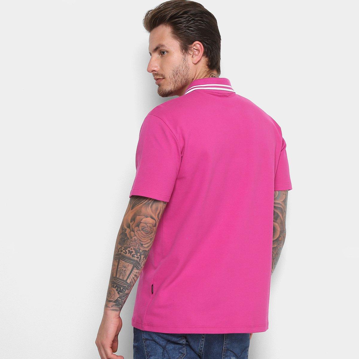 837c5c620c Camisa Polo Cavalera Piquet Frisos Masculina - Bordô - Compre Agora ...