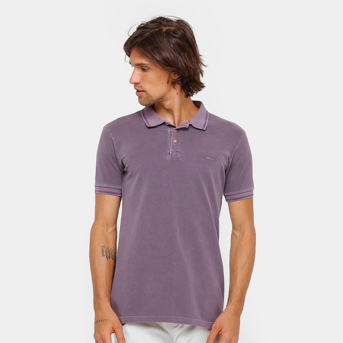 Camisa Polo Colcci Bordado Masculina - Compre Agora  fa8cd8bbea2f1