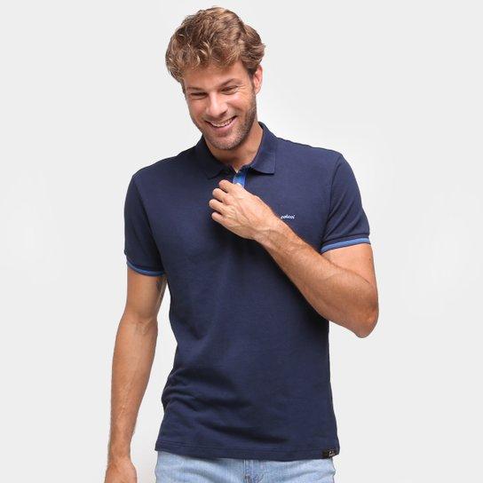 Camisa Polo Colcci Lisa Masculina - Marinho