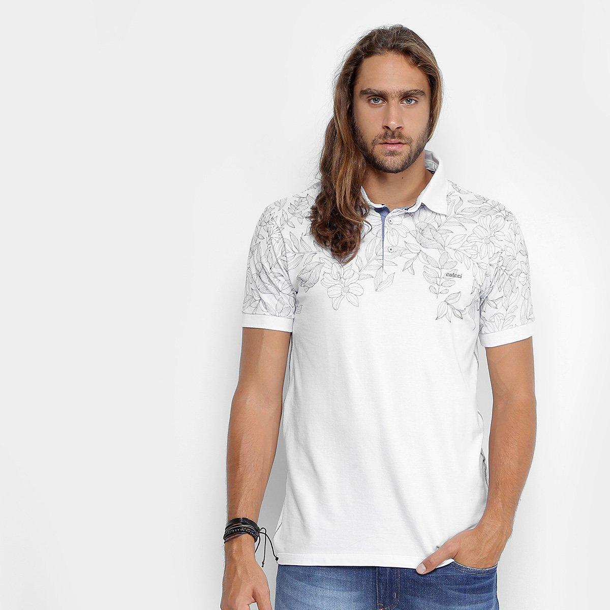 4b1466049 Camisa Polo Colcci Piquet Folhagem Masculina - Compre Agora | Zattini