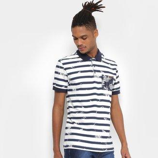 Camisa Polo Colcci Tropical Masculina