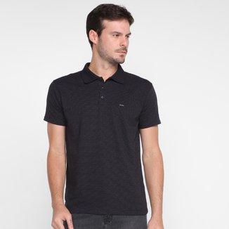 Camisa Polo Dixie Mini Poá Masculina
