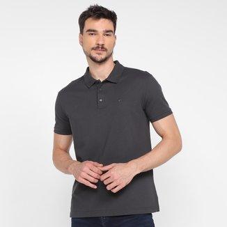 Camisa Polo Ellus Básica Lisa Masculina