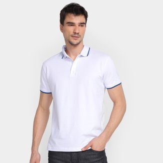 Camisa Polo Ellus Com Botões Manga Curta Masculina