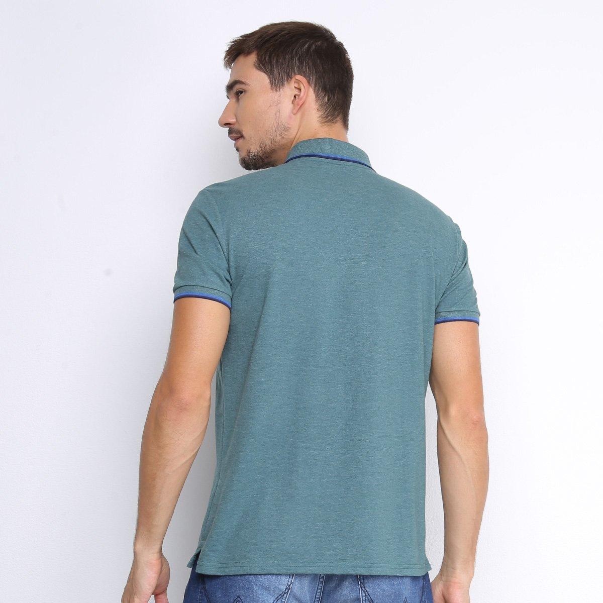 Camisa Polo Ellus Frisos Classic Masculina - Verde