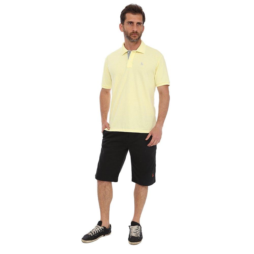 Camisa Polo England Polo Club Casual - Amarelo Claro - Compre Agora ... 366ccd62a0fcb