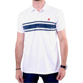 Camisa Polo England Polo Club Listrada Masculina