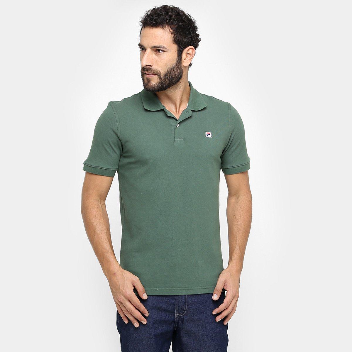 Camisa Polo Fila Actual - Verde