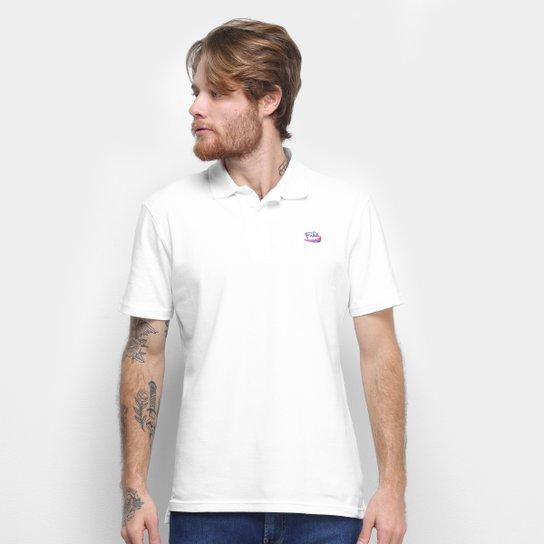 Camisa Polo Fila Overpass Masculina - Branco