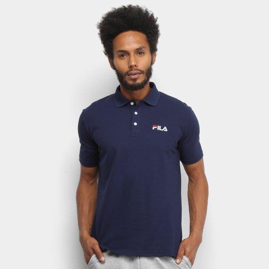 Camisa Polo Fila Select Masculina - Marinho