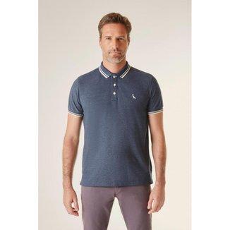 Camisa Polo Friso Rajado Ver20 Reserva Masculina