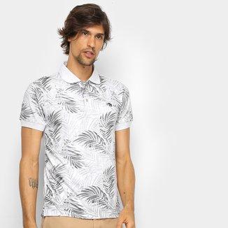 Camisa Polo Gajang Folhagem Masculina