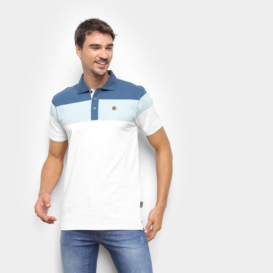 Camisa Polo Gajang Listrada Masculina - Branco