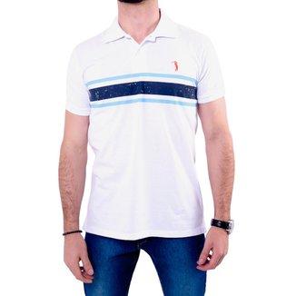 Camisa Polo Golf Club Listrada Masculina