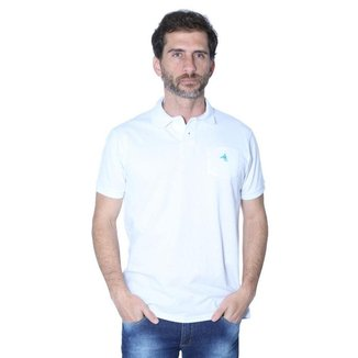 Camisa Polo Hipica Polo Club Masculino Piquet Com Bolso