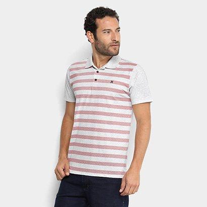 Camisa Polo Hurley High Masculina