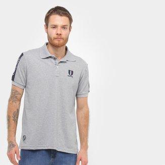 Camisa Polo Industrie Itália Masculina
