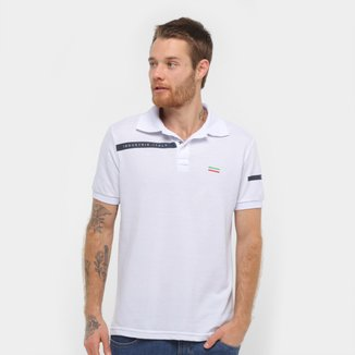 Camisa Polo Industrie Italy Masculina