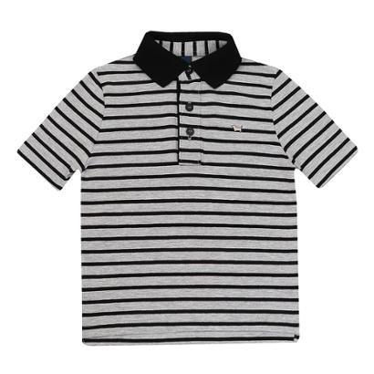 Camisa Polo Infantil 1mais1 Masculino Listrado