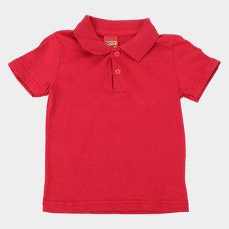 Camisa Polo Infantil Kyly Básica Masculina