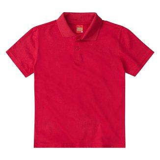 Camisa Polo Infantil Kyly Manga Curta Masculina