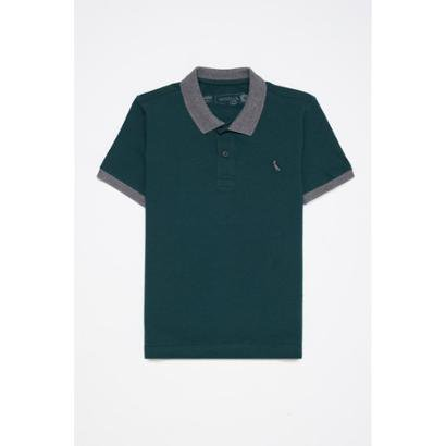 Camisa Polo Infantil Mini Conforto Gola Color Reserva Mini Masculina