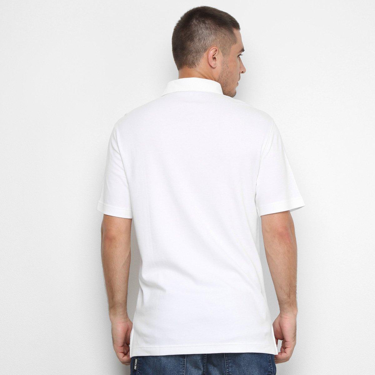 Camisa Polo Izod Lisa Masculina - Branco