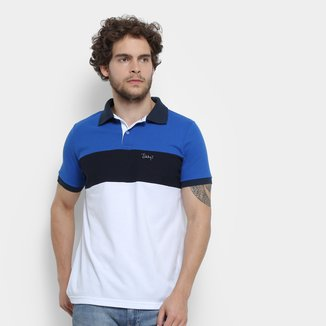 Camisa Polo Jimmy'Z Tricolor Masculina