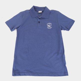 Camisa Polo Juvenil Nicoboco Ursaring Masculina