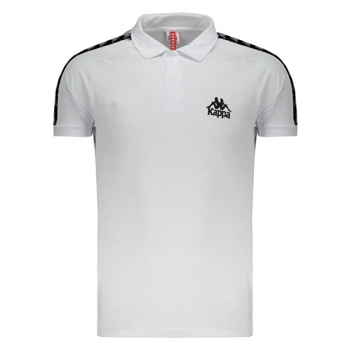 online store 015e3 3bceb Camisa Polo Kappa Authentic Due Due - Branco