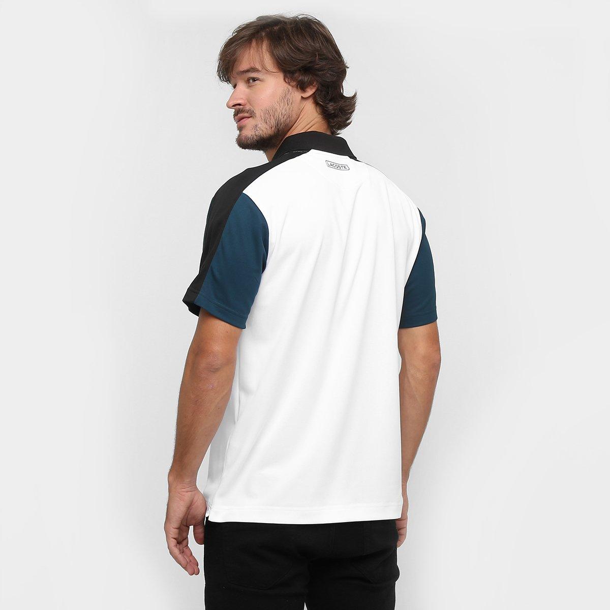 Camisa Polo Lacoste Fancy  Camisa Polo Lacoste Fancy ... 46475508ed4f6