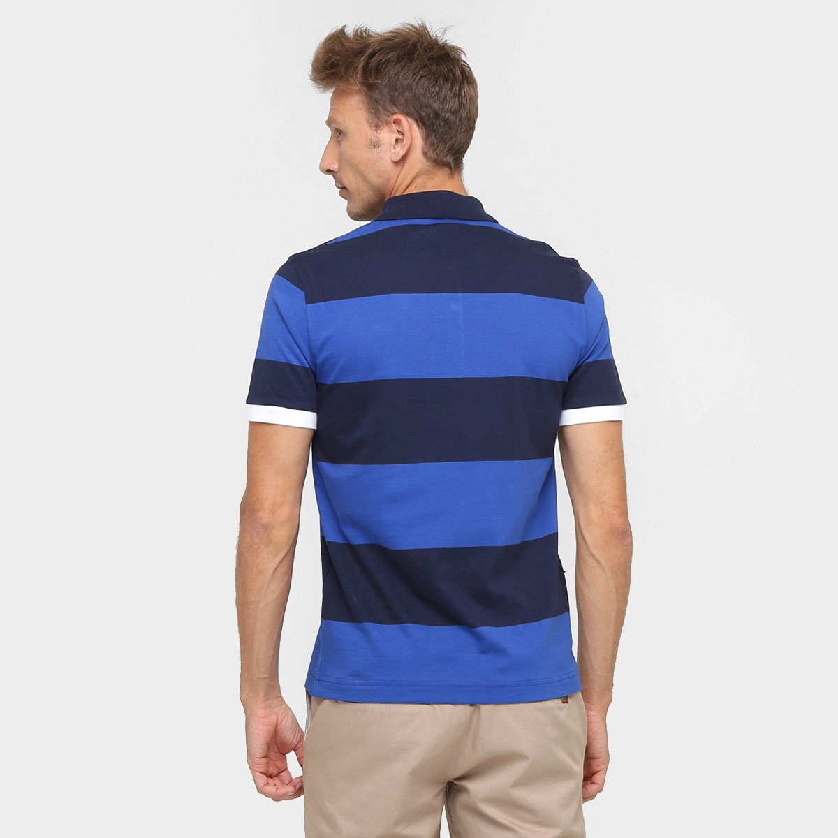 Camisa Polo Lacoste Live Listrada Piquet - Compre Agora   Zattini ecbeb1e2ae
