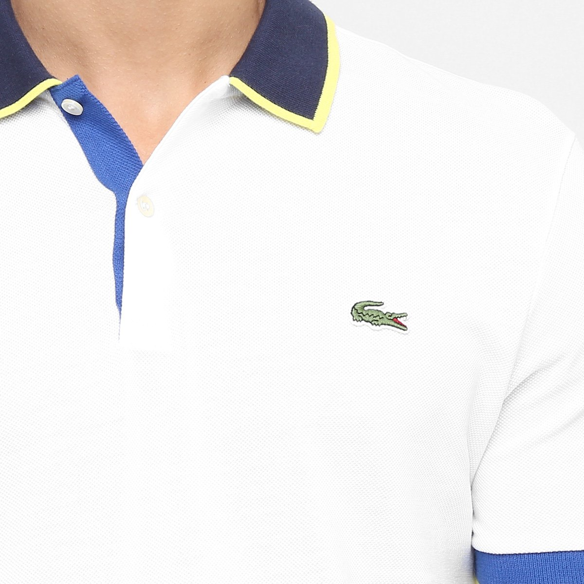 Camisa Polo Lacoste Live Piquet Fancy - Compre Agora   Zattini e5b6329da0