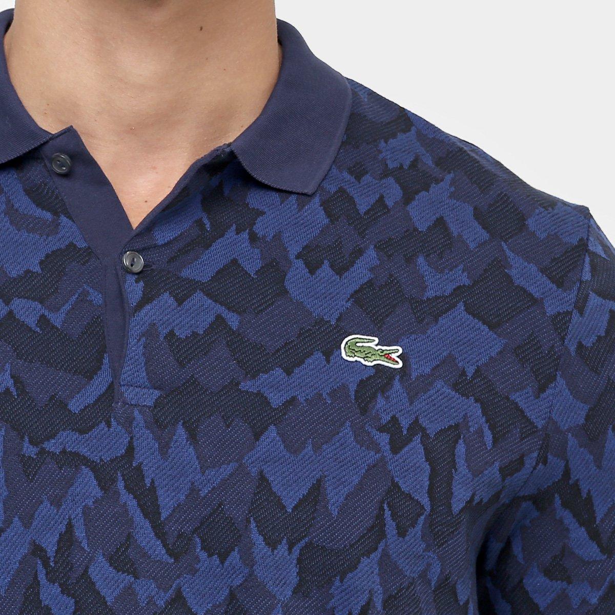 Camisa Polo Lacoste Live Piquet Jacquard Camuflado - Compre Agora ... 1a8a565eaf