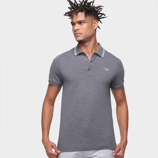 Camisa Polo Lacoste Manga Curta Masculina