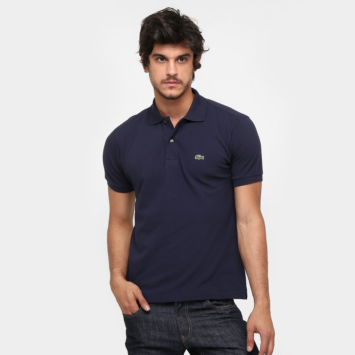 2ff1ae4d420 Camisa Polo Lacoste Original Fit Masculina