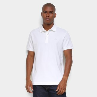 Camisa Polo Lacoste Paris Regular Fit Strech Masculina