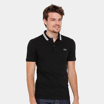 59382a5583 Camisa Polo Lacoste Piquet Slim Fit Rubber Croco Masculina - Compre Agora