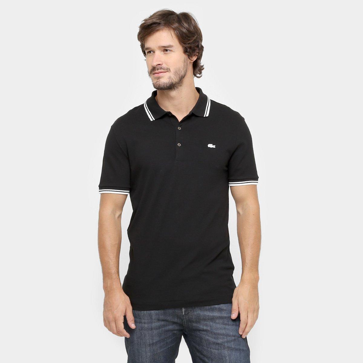 18efd40a7b3cd Camisa Polo Lacoste Piquet Slim Stretch - Compre Agora