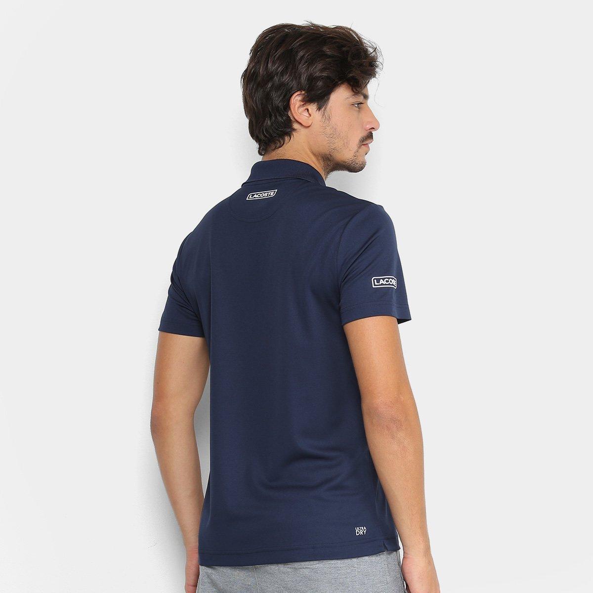Camisa Polo Lacoste Sport Tennis Masculina - Marinho - Compre Agora ... 20a0b1b6d4