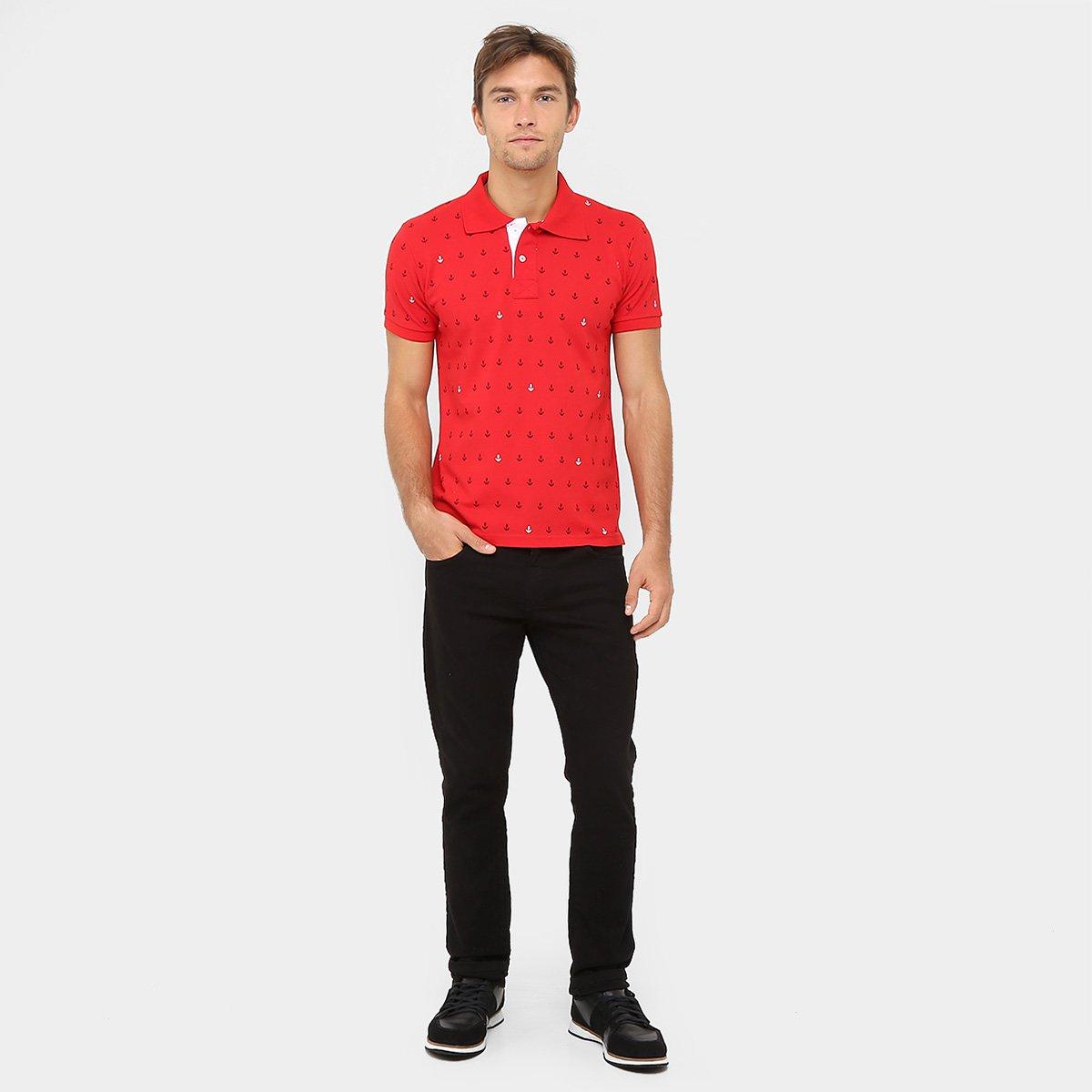 Camisa Polo Local Piquet Âncora - Compre Agora  73a985f47645a