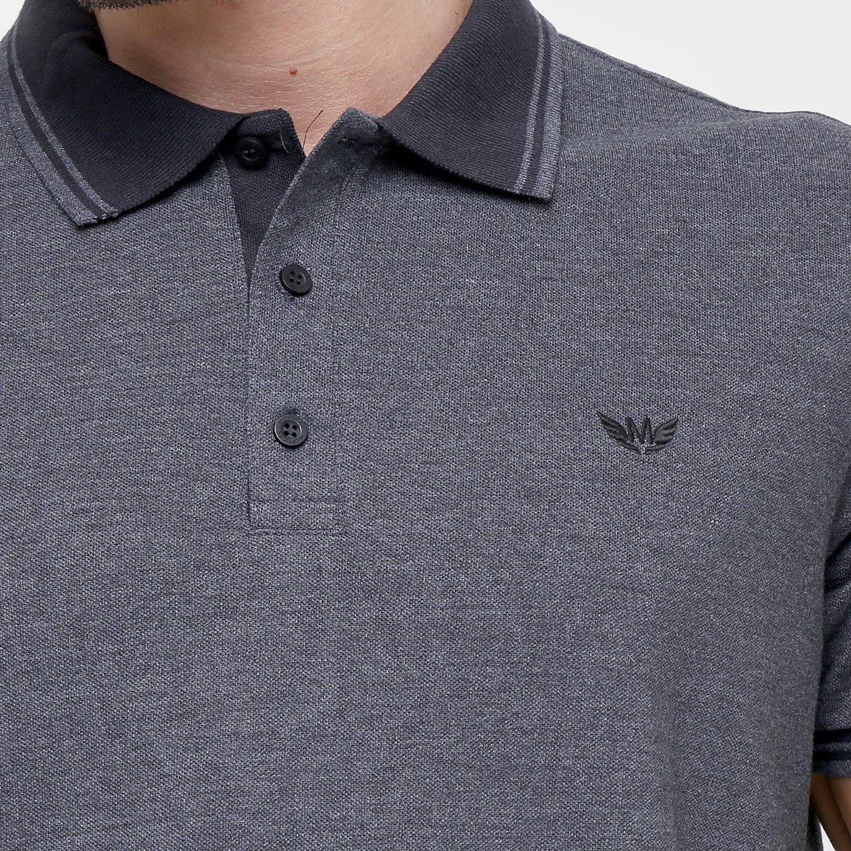 Camisa Polo M. Officer Piquet Frisos - Compre Agora  f036be505d00f