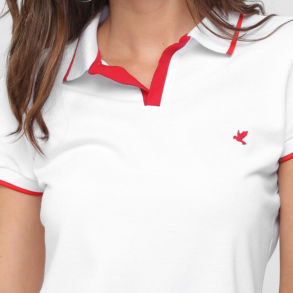 Camisa Polo Malwee Listra Gola E Manga Feminina - Compre Agora   Zattini 469b11ecc3