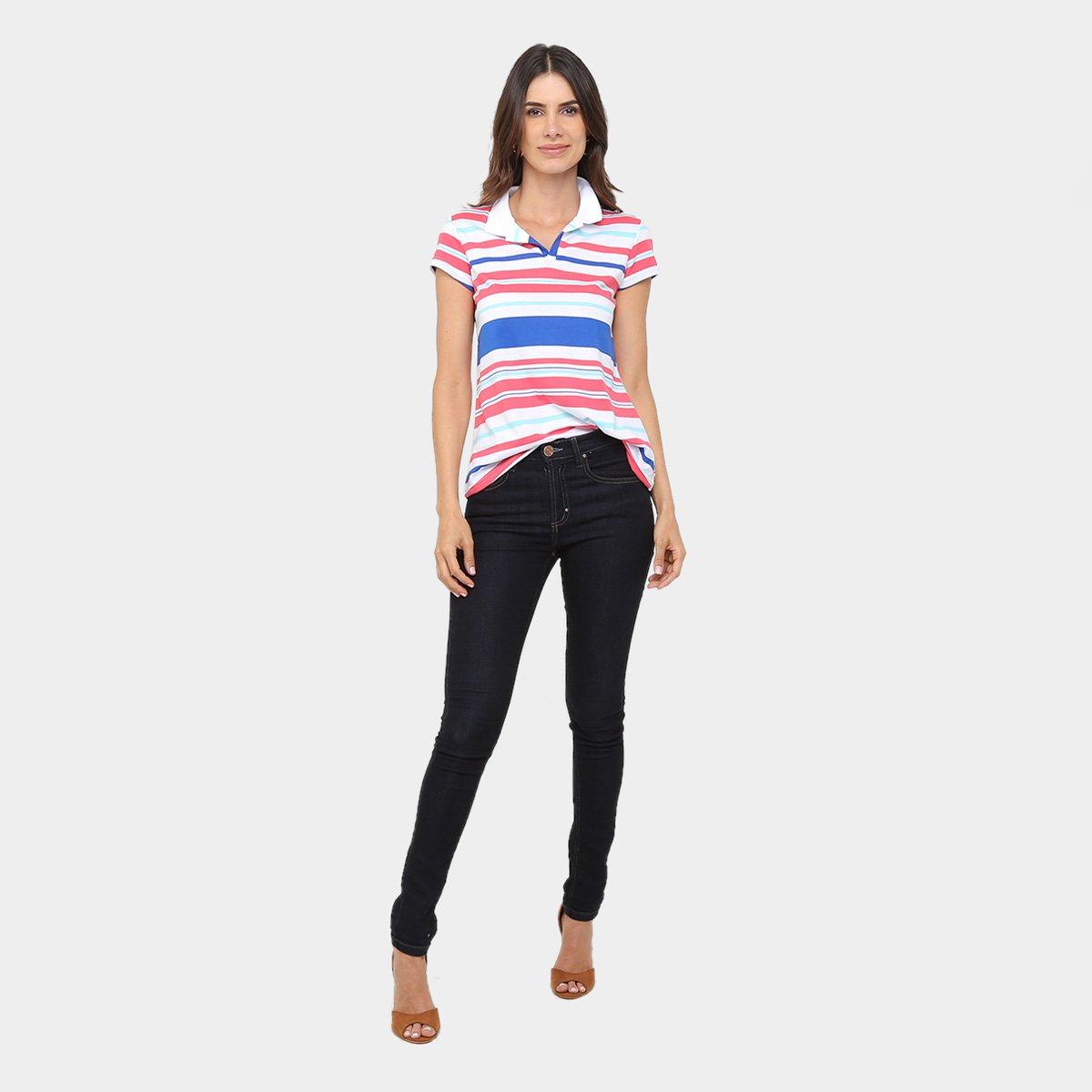 Camisa Polo Malwee Listrada Feminina - Compre Agora   Zattini f87b650860